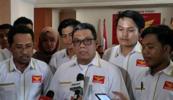 Ketua umum partai garuda ahmad ridha sabana